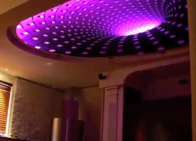 натяжные потолки с 3д рисунком фото